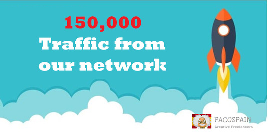 send 150,000 Web Traffic To Your Website, Blog or Affiliate Link