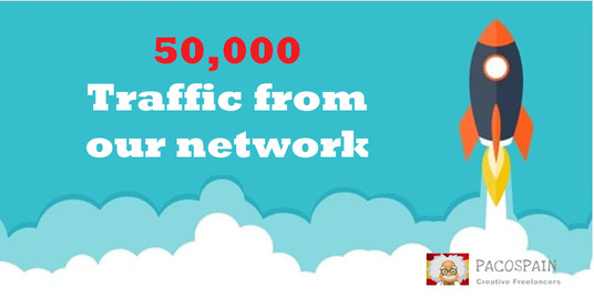 send 50,000 Web Traffic To Your Website, Blog or Affiliate Link