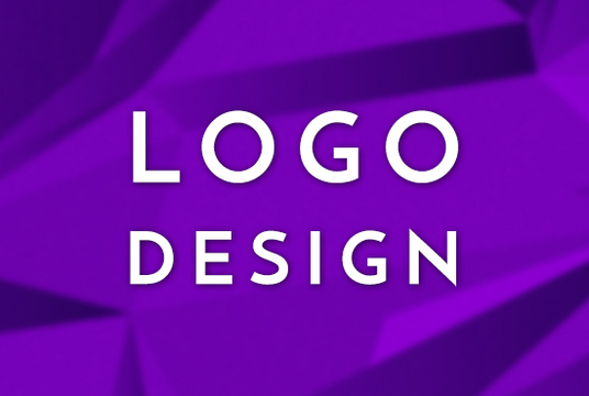 make a professional looking logo with 2 initial samples