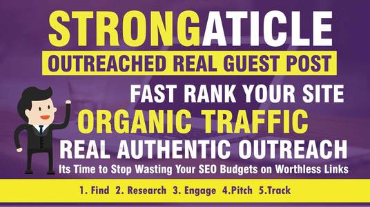 I will publish guest post on strongarticle.com  post