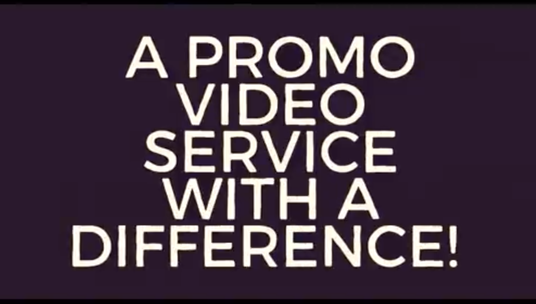 create motion graphics promo video flyer with female voiceover