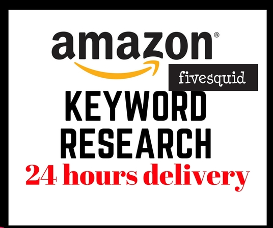I will do Amazon Keywords Research