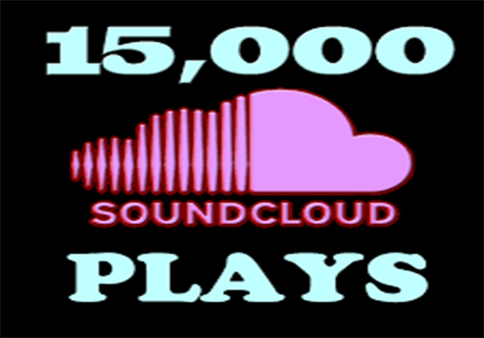 I will Provide you Top Quality 15,000 SoundCloud Music Plays
