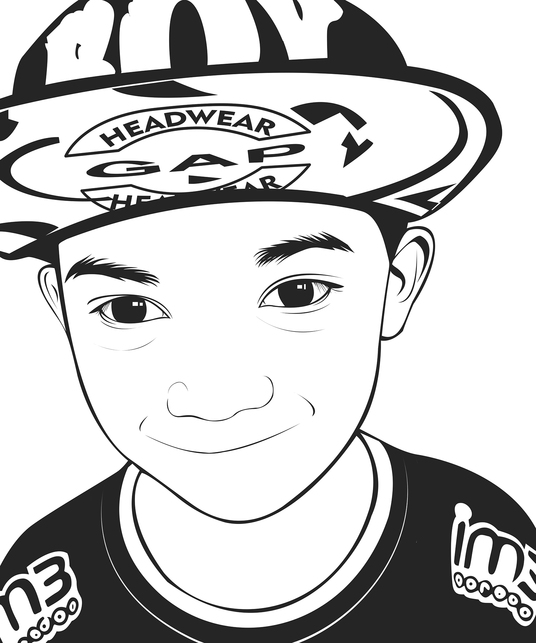 I will create 2 vector lineart
