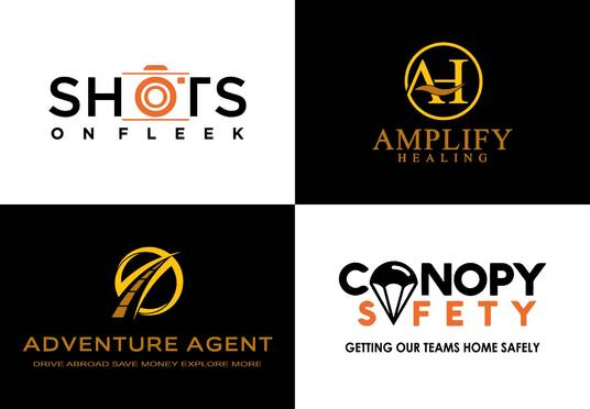 I will design a beautiful Flat Logo for your business