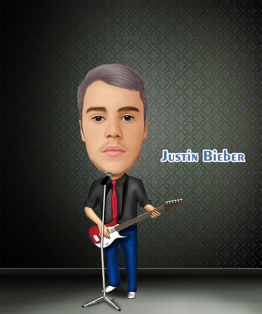 I will make awesome digital caricature