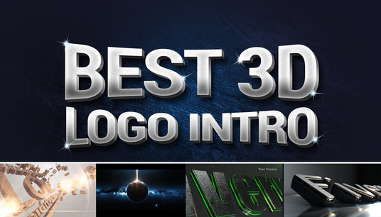 I will create Professional 3D Logo Intro videos in 24 hours or less