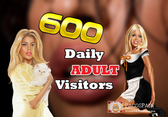 I will send 600 targeted organic worldwide ADULT traffic for your site for 30 days