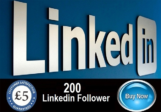 I will provide 200 LinkedIn followers for your pages