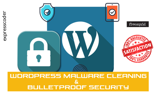 I will Remove Malware Or Virus And Bulletproof Your Wordpress Security