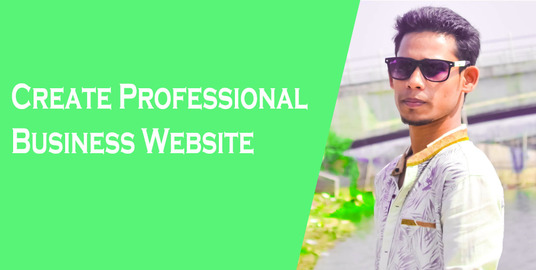 I will Create Professional Business Website