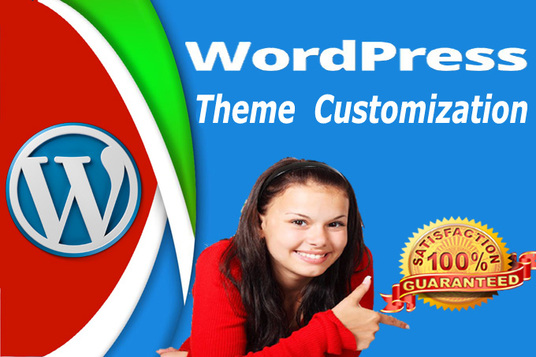 I will install, customize WordPress theme
