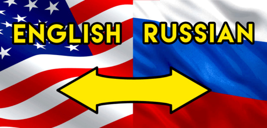 I will natively translate english to russian and russian to english