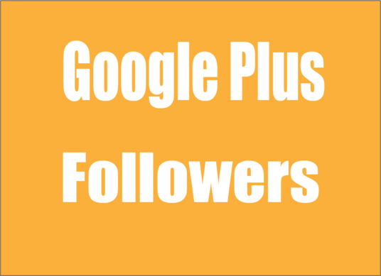 I will Provide Real Active High quality 150 GOOGLE plus followers or circles