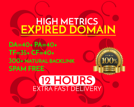 I will Give High-Quality niche based Expired Domain