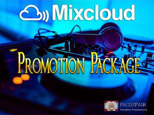 I will do this MIXCLOUD Promotion Package