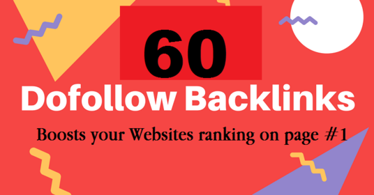 manually do 60 Do follow Pr9 Backlinks ,DA 65 for seo