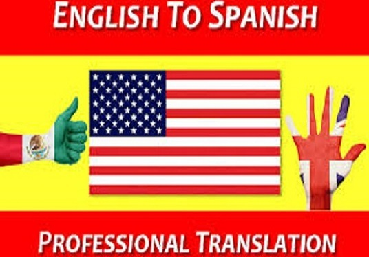 I will translate from spanish to english and english to spanish