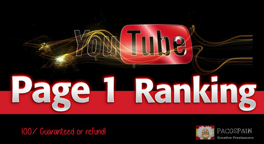 I will Rank your Video Page 1 on YouTube - 2018 Updates
