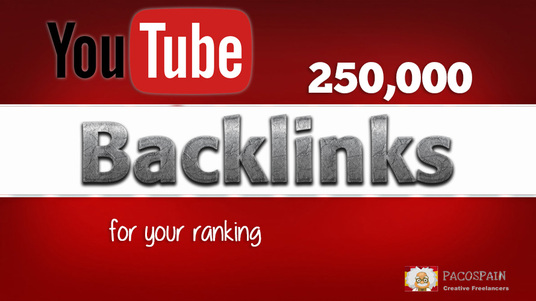 I will build 250,000 backlinks to your YouTube video for seo ranking