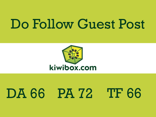 I will Publish Guest Post On Kiwibox DA69