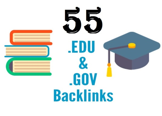 I will Make 55 Edu Gov Back links (DA 45+) for Your website