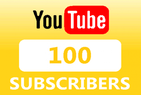 I will Give 100 YouTube subscribers