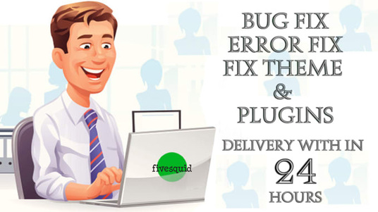I will Fix any Wordpress Error Problem Issue