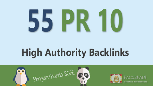 55+ PR10 and 1000 GSA backlinks on tier 2