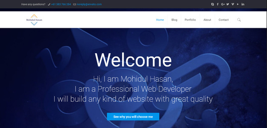 I will create an eye catching and professional website using WordPress