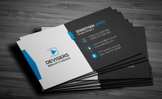 design eye catching business cards