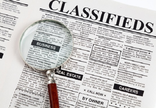 I will post your ads on 20 classified sites manually