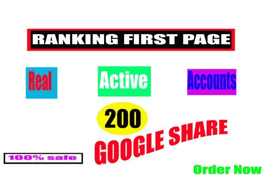 I will Add 200+ google share