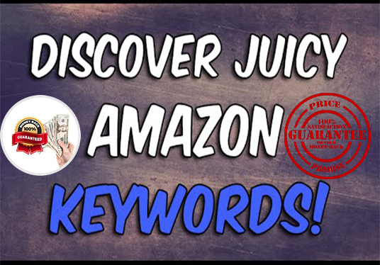 I will provide you find out in depth amazon keyword research