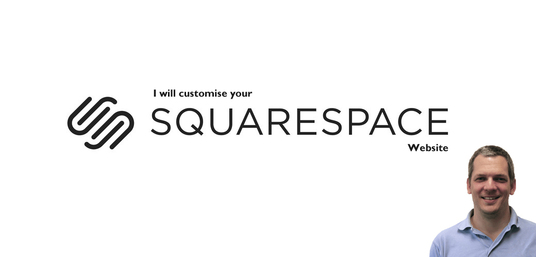 I will customise your Squarespace website