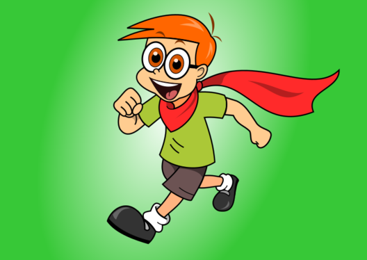 draw funny and cute cartoon character