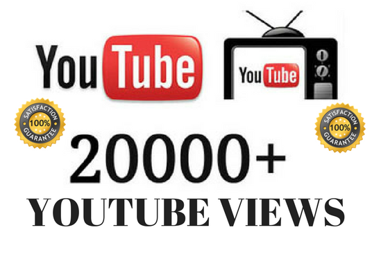 I will give you 10,000 safe High-quality Youtube views