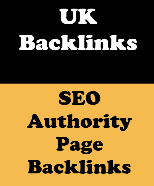 I will Do 50+ UK Domains SEO Authority Page Backlinks