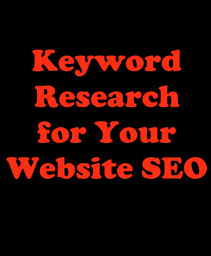 Provide in depth Keyword Research for Your Website SEO