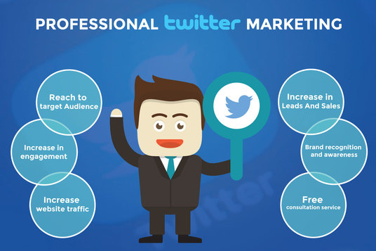 I will manage, grow and do twitter marketing professionally
