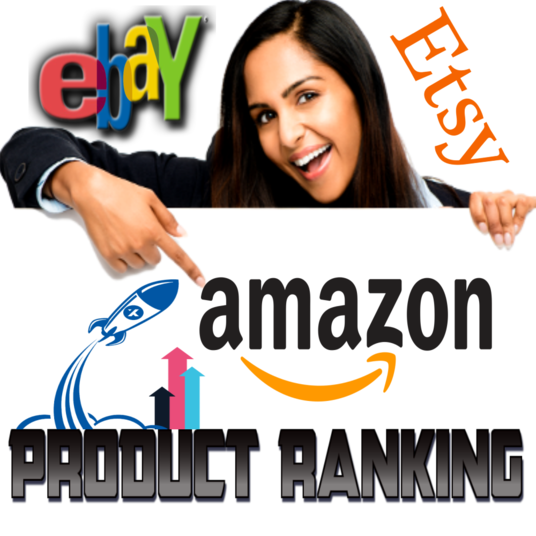 I will RANK Your Amazon SEO service, eBay, Etsy Product Listing To PAGE 1