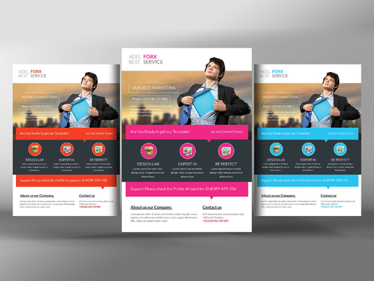 I will design Professional Flyers and Brochures