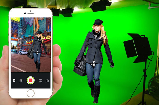 Change your Video background with Green Screen for £10