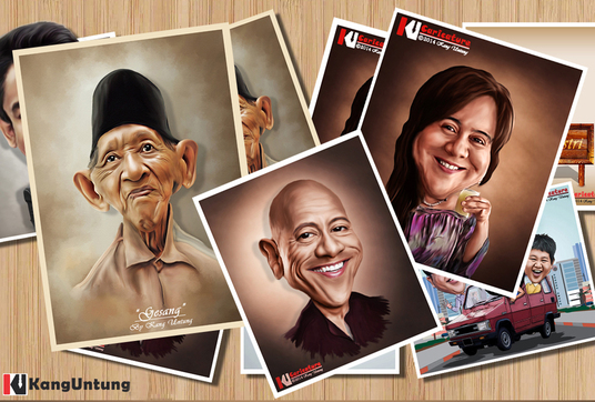 I will Create Digital Caricature from your photos