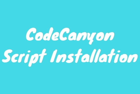I will install and setup CodeCanyon PHP script
