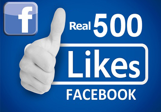 I will add 500+ real non drop facebook fanpage likes