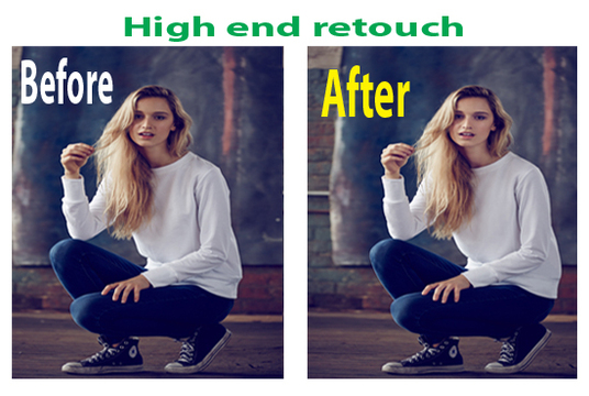 I will Professionally retouch your images / Product