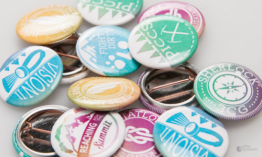I will Design Custom Pin Button, Fridge Magnets, Pinback, Flatback, Special Event and Campaign Bu