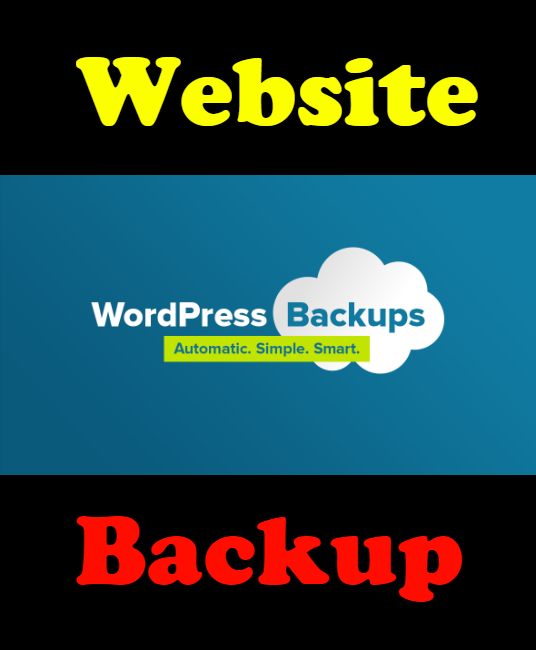 I will Complete Backup Solution for your wordpress/woocommerce website
