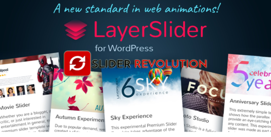I will Create Eye Catching Revolution Or Layer Slider